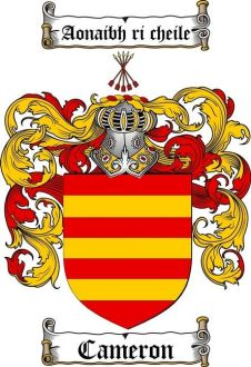 Clan Cameron Coat of Arms